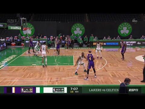 Alex Caruso vs. Boston Celtics   January 30, 2021