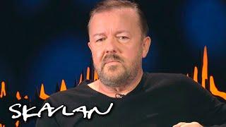 – If you're mildly conservative on Twitter, you're Hitler | Ricky Gervais | SVT/TV 2/Skavlan