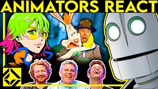 Animators React to Bad & Great Cartoons 5