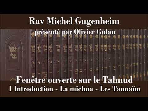 Rav Michel Gugenheim - Fenêtre ouverte sur le Talmud 1