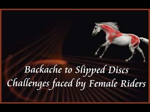 Backache to Slipped Discs - Challenges Faced by Female Riders - by Jochen Schleese