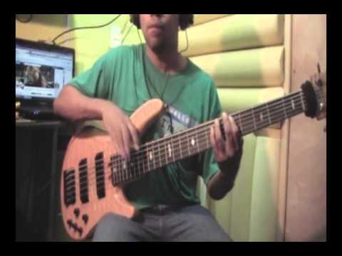 Generacion cristiana -  tutorial de bajo - merengue cristiano -   Junior Rafill bajista
