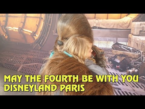 Star Wars Day 'May the Fourth Be With You' at Disneyland Paris