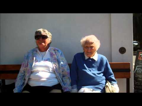 Centenarian & daughter's message to the Australian Paralympic team!