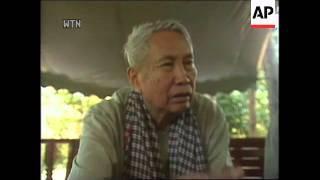 Cambodia - Pol Pot interview