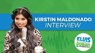 Kirstin Maldonado Releases Debut Solo Album 'Break a Little' | Elvis Duran Show