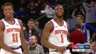 Philadelphia 76ers vs New York Knicks : January 13, 2019