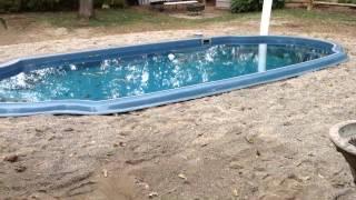 Fiberglass Pool Install