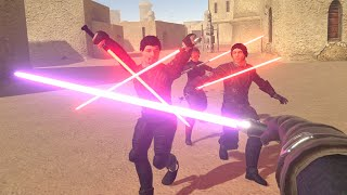 i found a lightsaber and became a JEDI in VR
