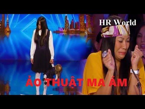 [Eng-Vietsub] Riana: Màn ảo thuật ma ám khiến các giám khảo sợ chết khiếp: Asia's Got Talent 2017