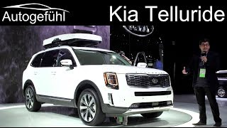 Kia going BIG: all-new Kia Telluride 8-Seater SUV REVIEW - Autogefühl