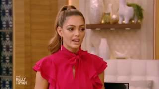 Demi-Leigh Nel-Peters Miss Universe in Live with Kelly and Ryan