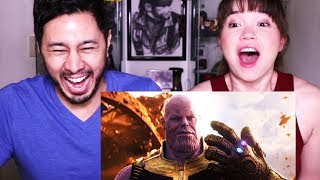 MARVEL'S AVENGERS: INFINITY WAR   Official Trailer   Reaction!