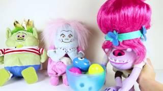 Easter Egg Hunt with the Bergens Dreamworks Trolls Movie Part 16 - Boss Baby, Smurfs Ellie Sparkles