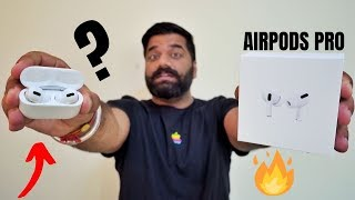 """Airpods Pro Unboxing & First Look - Airpods Pro Vs Airpods? Noise Cancelling """"PRO""""🔥🔥🔥"""
