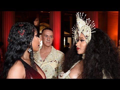 Cardi B REVEALS She & Nicki Minaj Sorted Out 'Issues' During 2018 MET Gala