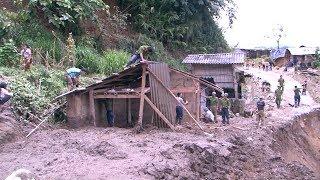 Tin Lũ lụt: Tình quân dân trong mưa lũ Lai Châu