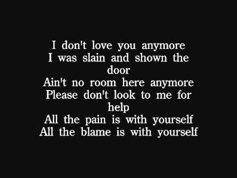 Quireboys - I Don't Love You Anymore lyrics - YouTube