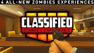 """4TH BO4 ZOMBIES """"FIVE REMASTERED"""" CLASSIFIED MAP ANNOUNCED (ALL BLACK OPS 4 SEASON PASS DETAILS)"""