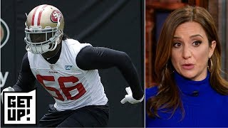 Redskins wanted Reuben Foster since 2017 draft regardless of red flags – Dianna Russini | Get Up!