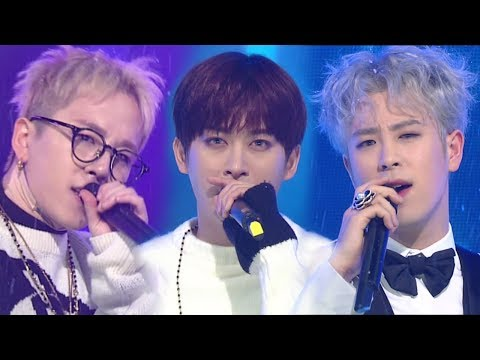 《EMOTIONAL》 Block B(블락비) - Don't Leave(떠나지마요) @인기가요 Inkigayo 20180121