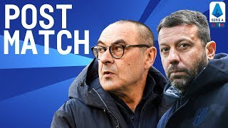 Juventus 2-1 Parma Sarri & D'Aversa Post Match Press Conference | Serie A