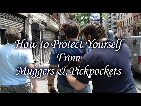 How to Protect Your Valuables Against Muggers and Pickpockets