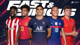 Top 10 Fastest Football Players 2021