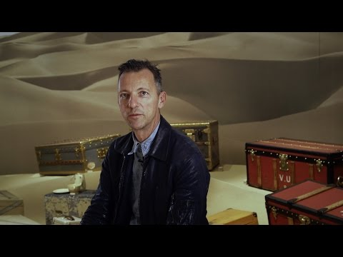 Interview with Olivier Saillard, curator of the Volez, Voguez, Voyagez - Louis Vuitton Exhibition