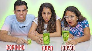 COPO, COPINHO OU COPÃO - EXTREMO! - KIDS FUN