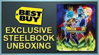 Dragon Ball Super: Broly Best Buy Exclusive SteelBook Unboxing