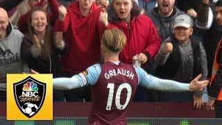 Jack Grealish brings Aston Villa level v. Brighton | Premier League | NBC Sports