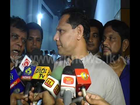 Dayasiri Jayasekara - SLFP Central Committee Meeting