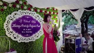 đám cưới có một không hai. Mẹ chồng hát nhạc remix con dâu lên nhảy tưng bừng