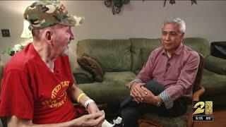 Anchor Bill Balleza and Jimmy Carter recall Vietnam War