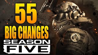 Modern Warfare: 55 Big Changes in The Season 5 Update! (Update 1.24)
