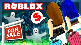 Roblox Family - BUYING OUR FIRST HOME AND IT'S HAUNTED! (Roblox Roleplay)