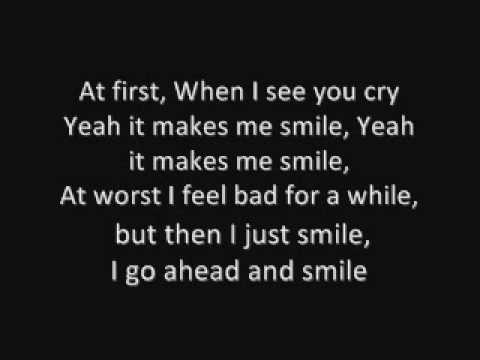 Smile- Glee Cast (Lilly Allen song) Lyrics