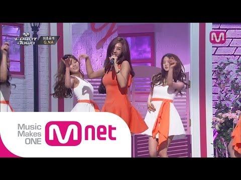 G.NA_예쁜 속옷 (G.NA's Secret by G.NA of M COUNTDOWN 2014.05.15)