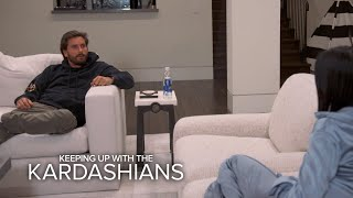 KUWTK | Scott Disick & Kourtney Kardashian's Tense Stand-Off | E!