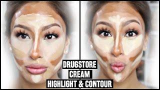 "Drugstore Cream Contour & Highlight ""Baking"""