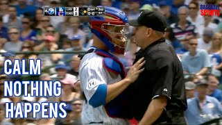 MLB | Catcher stand up for team