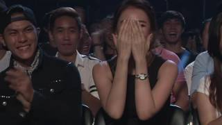 Hari Won ngượng ngùng khi nhảy với Trấn Thành