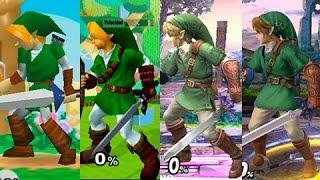Super Smash Bros Wii U   Link Evolution