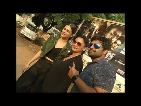 PSV-Garuda-vega-Movie-Team-Visits-Bhramarambha-Theater-Kukatpally
