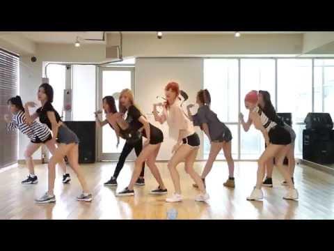 9MUSES A - Lip 2 Lip - mirrored dance practice video - 나인뮤지스 A 입술에 입술 안무 연습영상