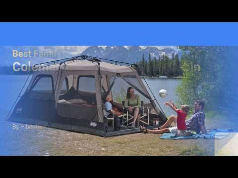 Coleman 6 Person Instant Tent Reviews I Best Family Cabin Tent