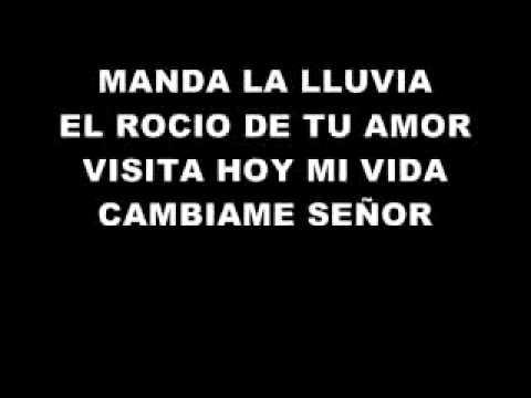 DIOS MANDA LLUVIA PISTA