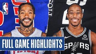 PISTONS at SPURS | FULL GAME HIGHLIGHTS |  December 28, 2019
