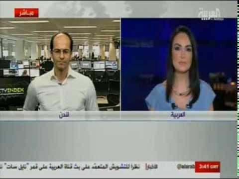 أشرف العايدي على قناة العربية  21 أغسطس 2013 Chart